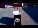 Ролл-бар с логотипом заказчика. Отправлен был в город Первоуральск Свердловской области.